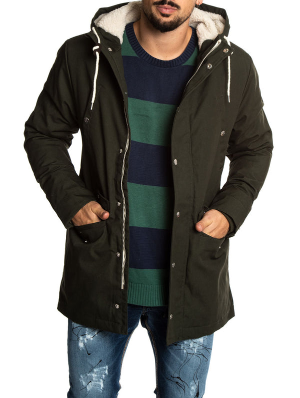 e2341628761 LEIF PARKA JACKET IN ARMY GREEN