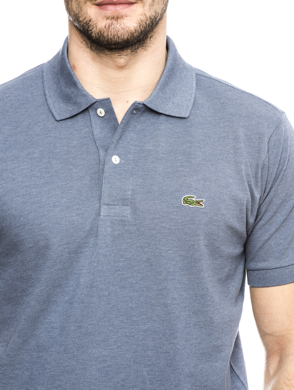 LIGHT BLUE LACOSTE POLO