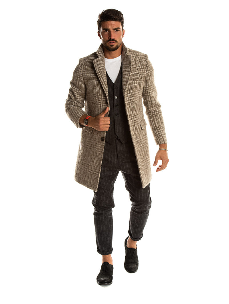 ABEL COAT IN MUD
