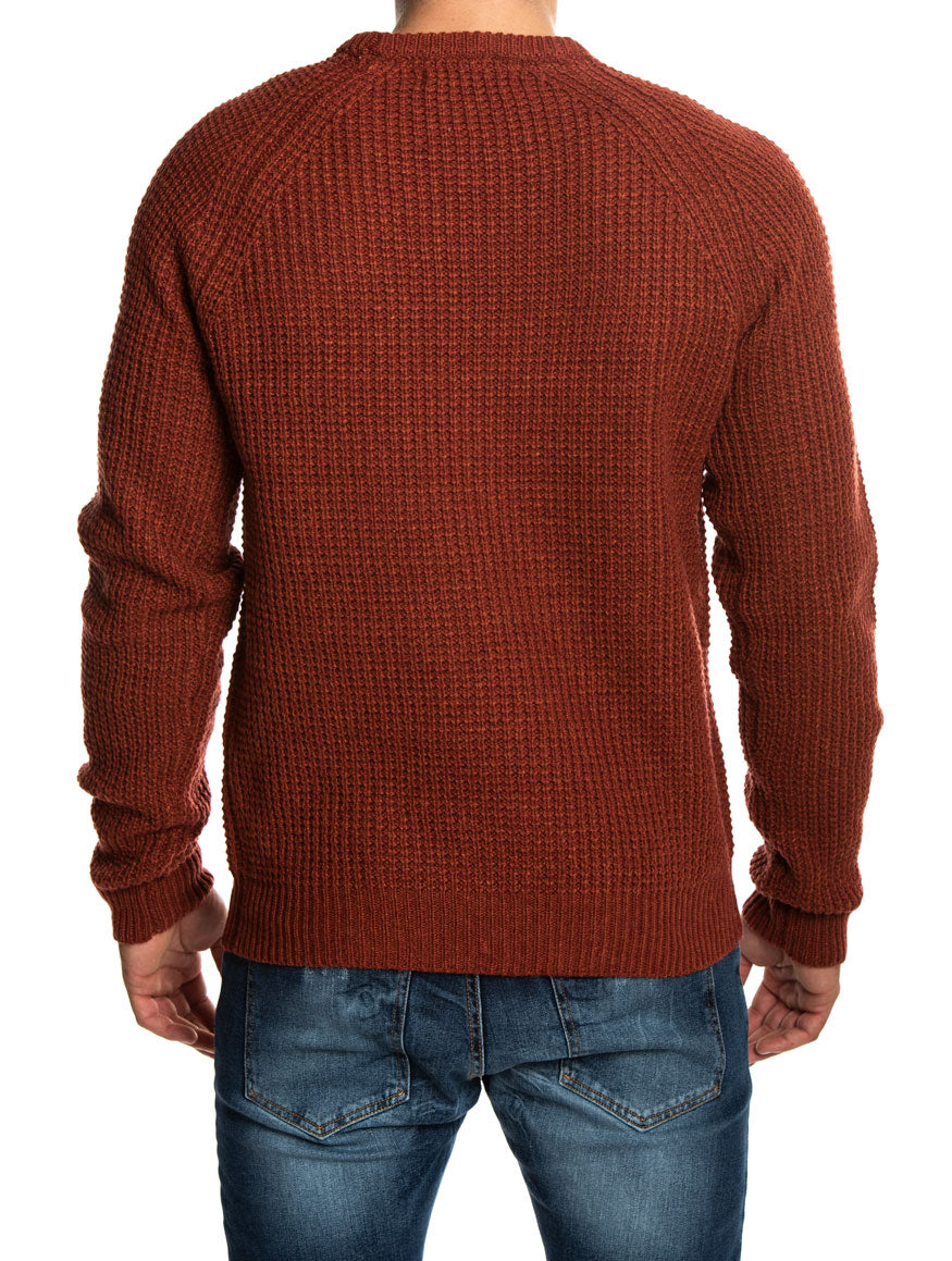 IRON Q3123 SWEATER IN DUSTY RE D