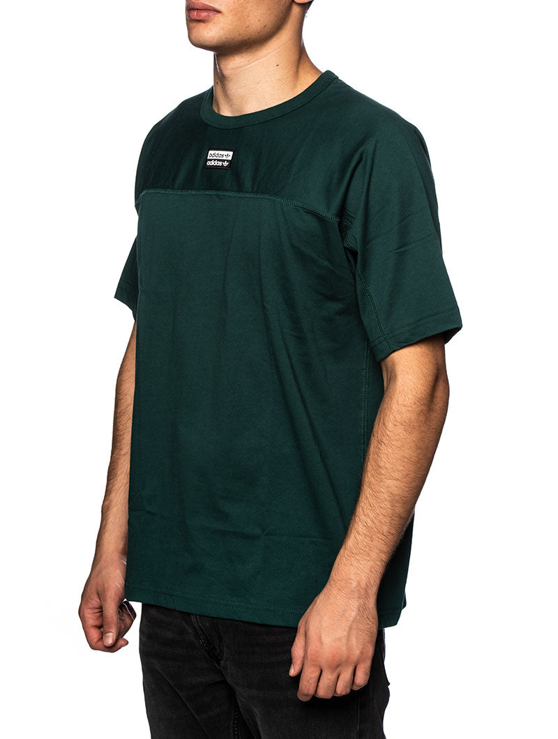 VOCAL A TEE BASIC T-SHIRT IN HUNTER GREEN