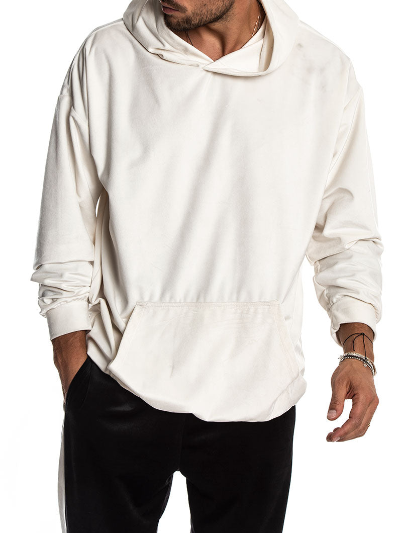 DISORDER SWEATSHIRT IN WHITE