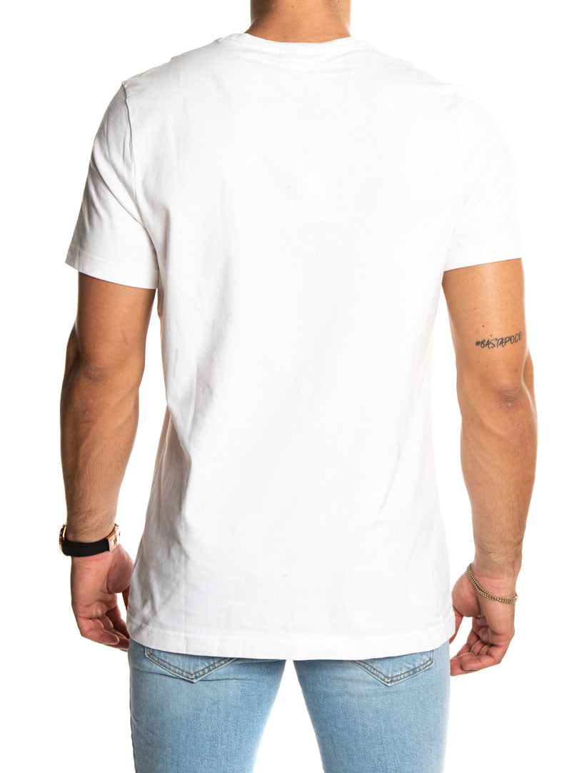 F GR TEE IN WHITE