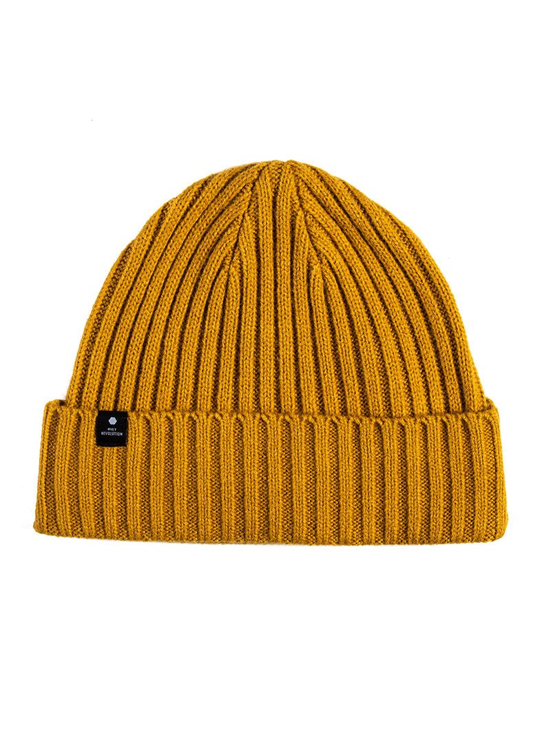 RVLT BEANIE IN BROWN