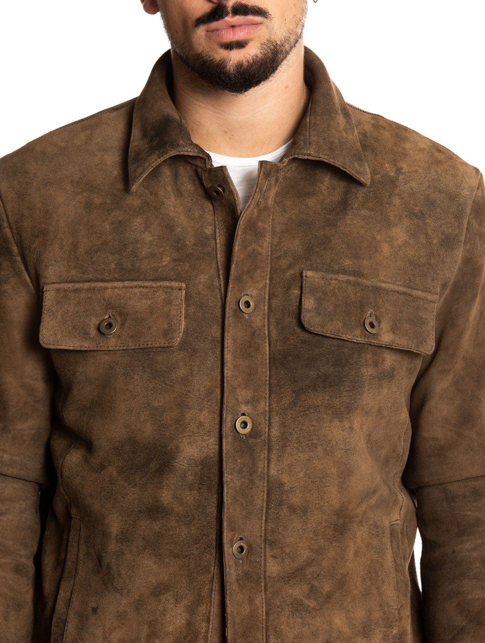 ELWIN JACKET IN BROWN