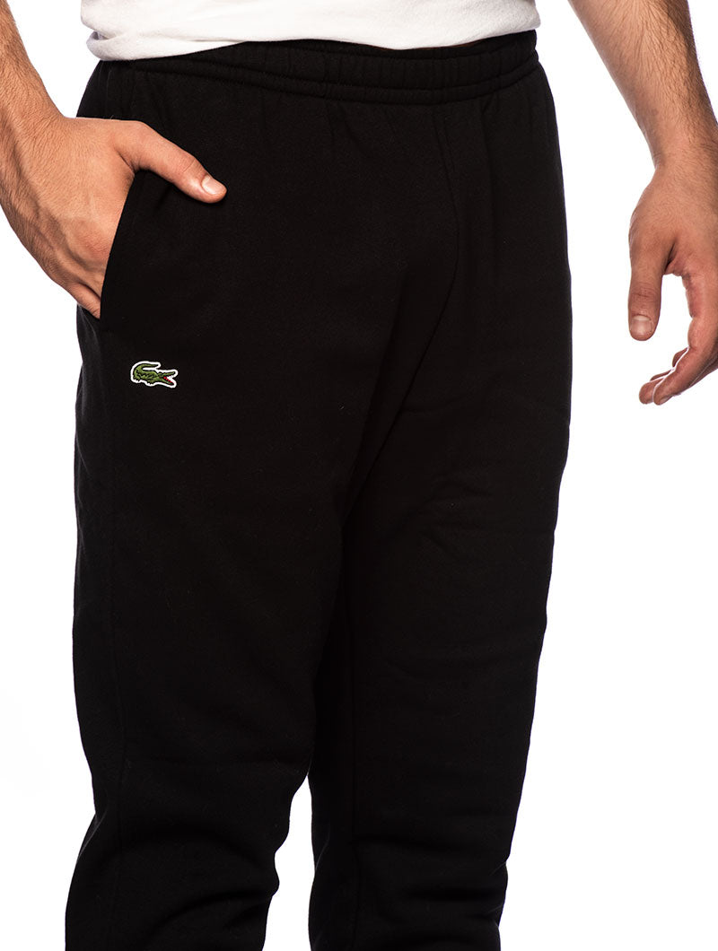 LACOSTE SWEATPANTS IN BLACK