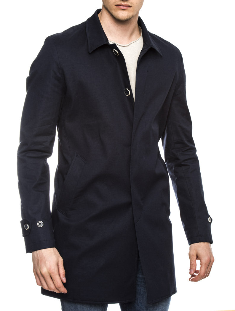FOREST COAT IN BLUE NAVY