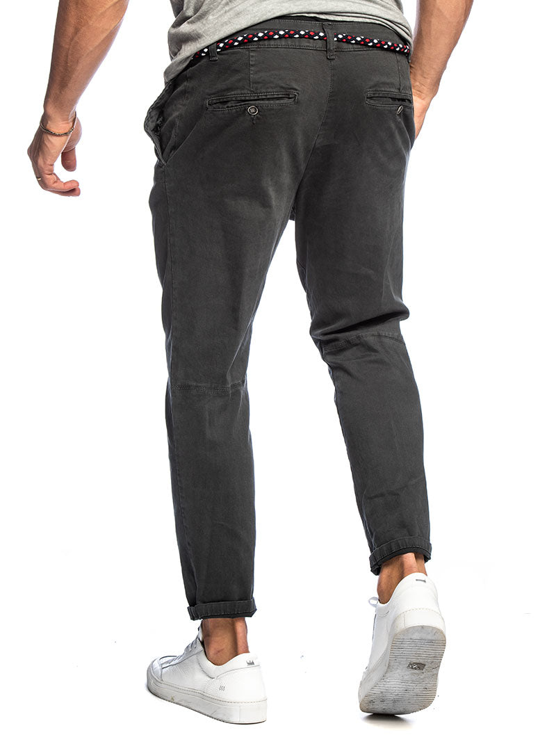 LOYD CASUAL PANTS IN ANTHRACITE