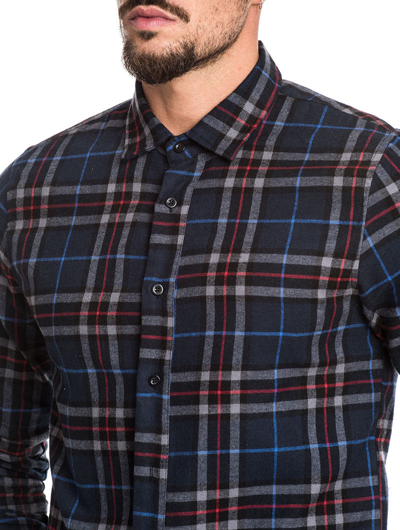 MEN'S CLOTHING | CAMDEN FLANNEL SHIRT | NOHOW