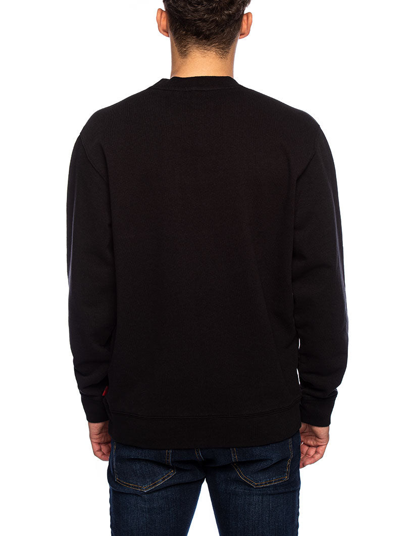 AMERICAN SWEATSHIRT IN BLACK
