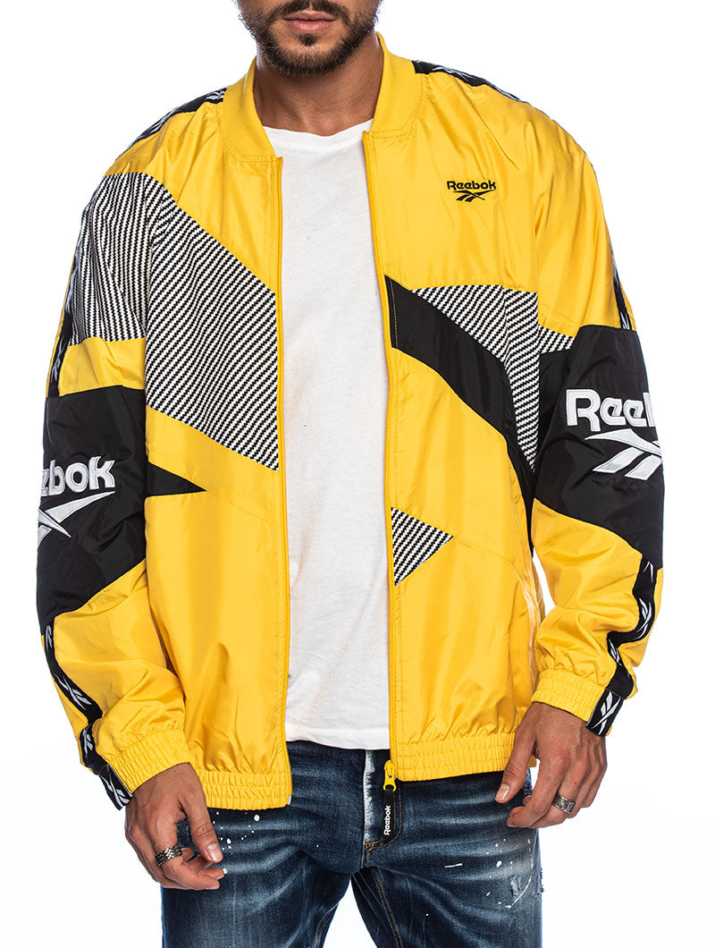REEBOK CL V JACKET IN YELLOW