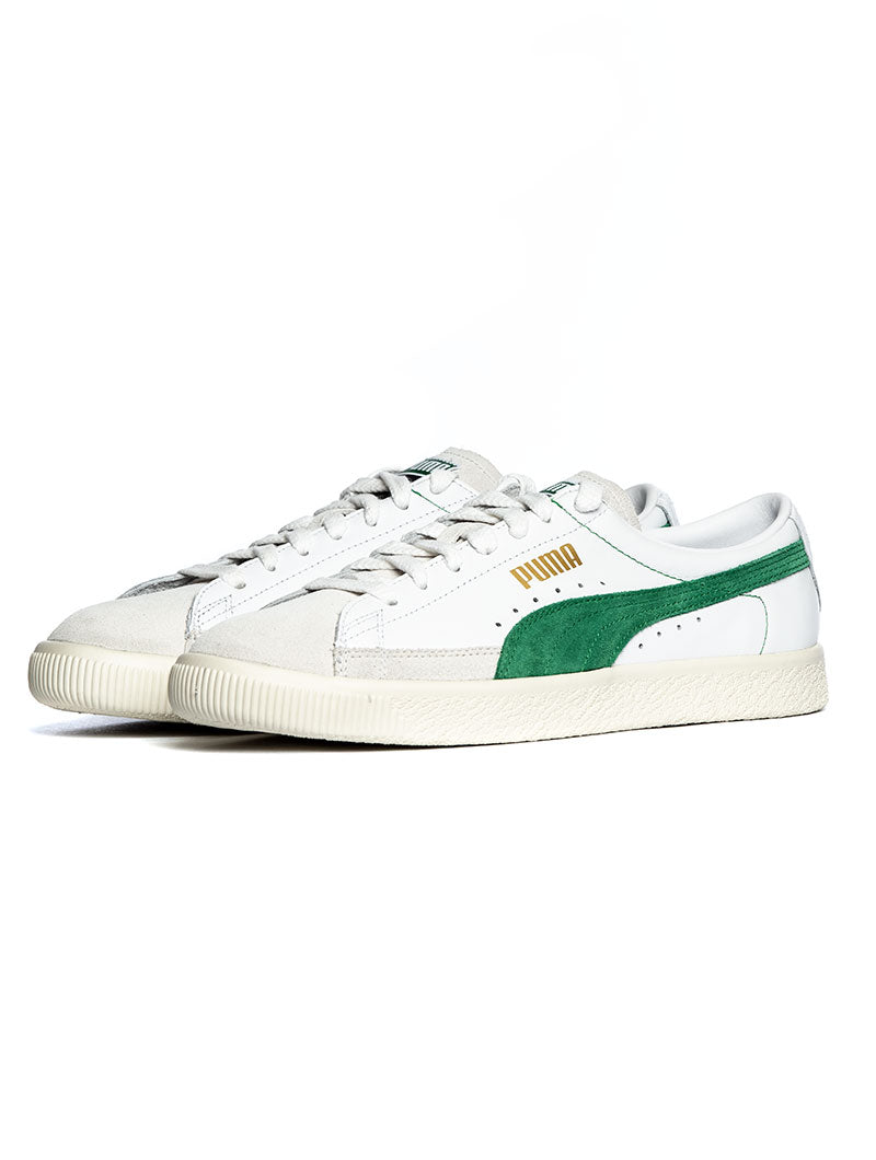 BASKET 90680 IN WHITE AND GREEN