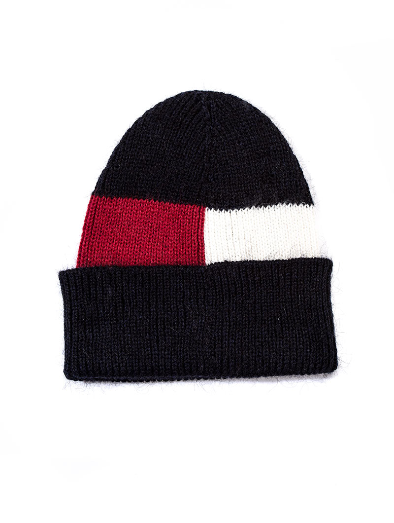 LUXURY FLAG BEANIE IN CORPORATE
