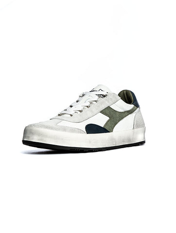 buy online b20b4 9e25a B.ORIGINAL H LEATHER SNEAKER IN WHITE