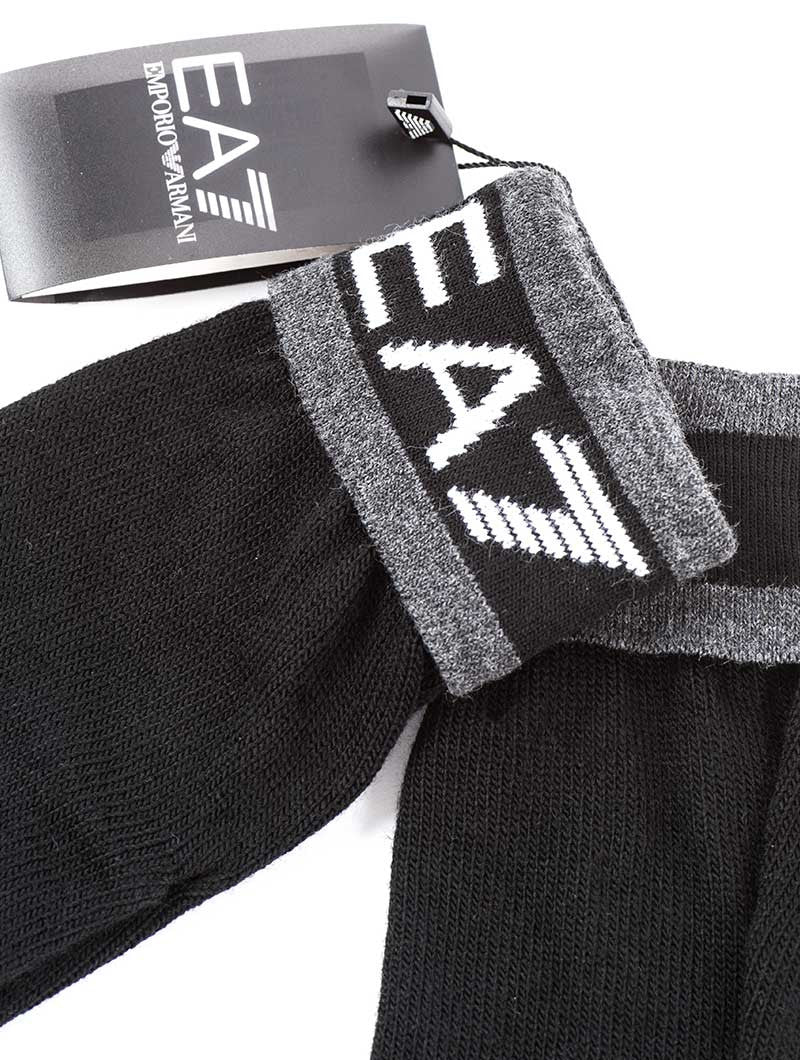 MAN'S KNIT GLOVES IN BLACK