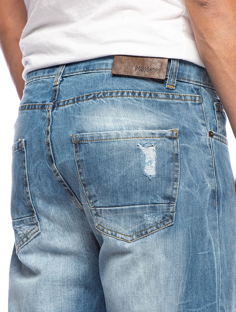 ARLIN STRAIGHT JEANS IN BLUE