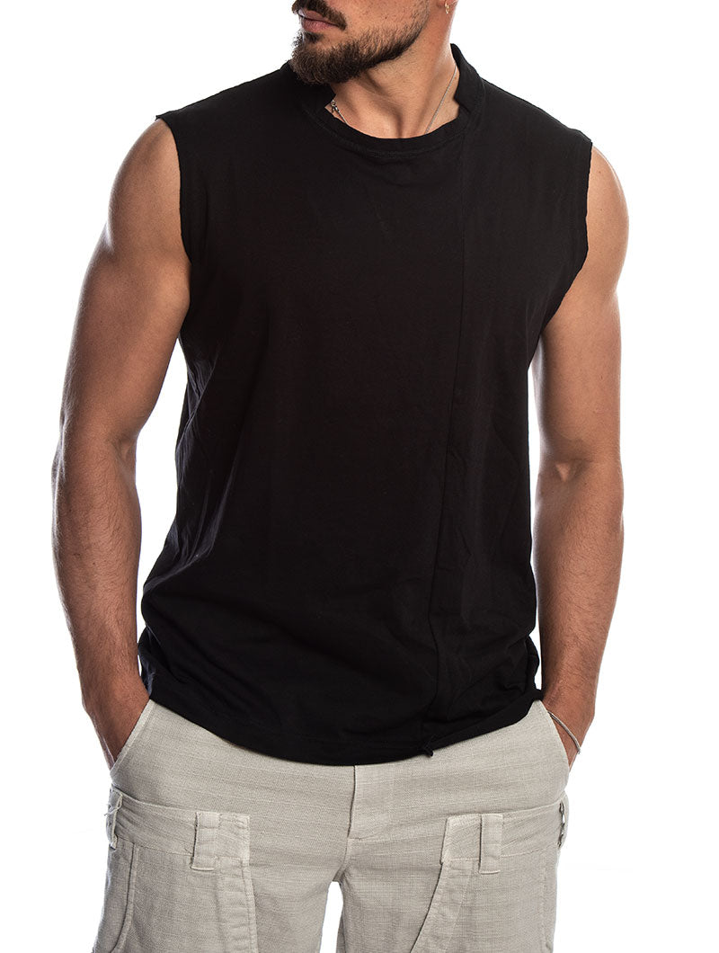IKEMA TANK IN BLACK