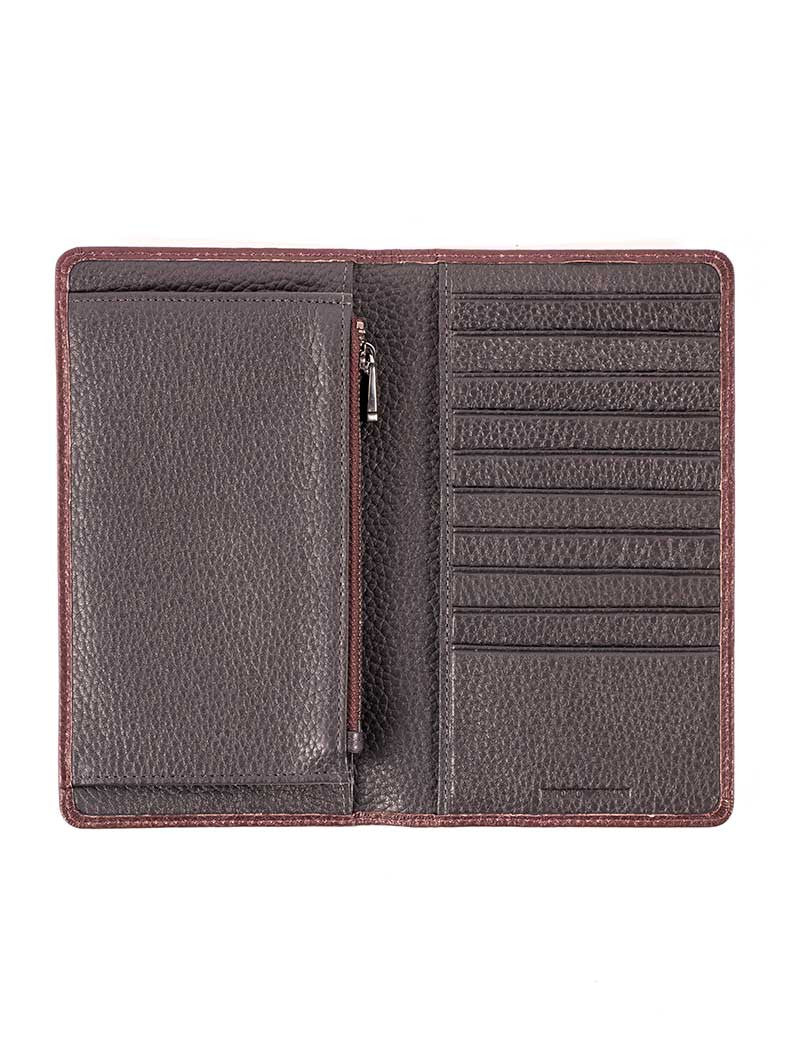 MEN'S WALLET | BORDEAUX BLUE WALLET | EMPORIO ARMANI
