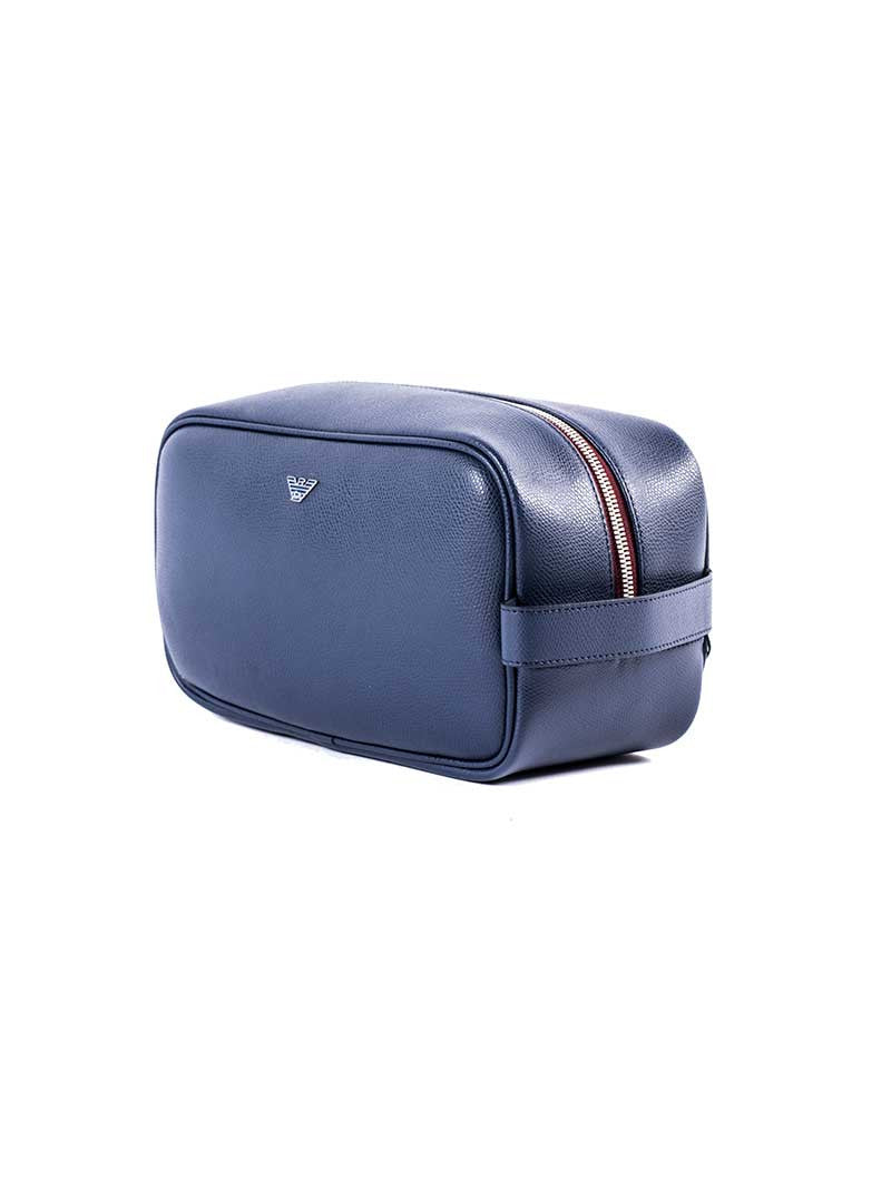 MEN'S BEAUTY CASE | BURNING BLUE BEAUTY CASE | EMPORIO ARMANI