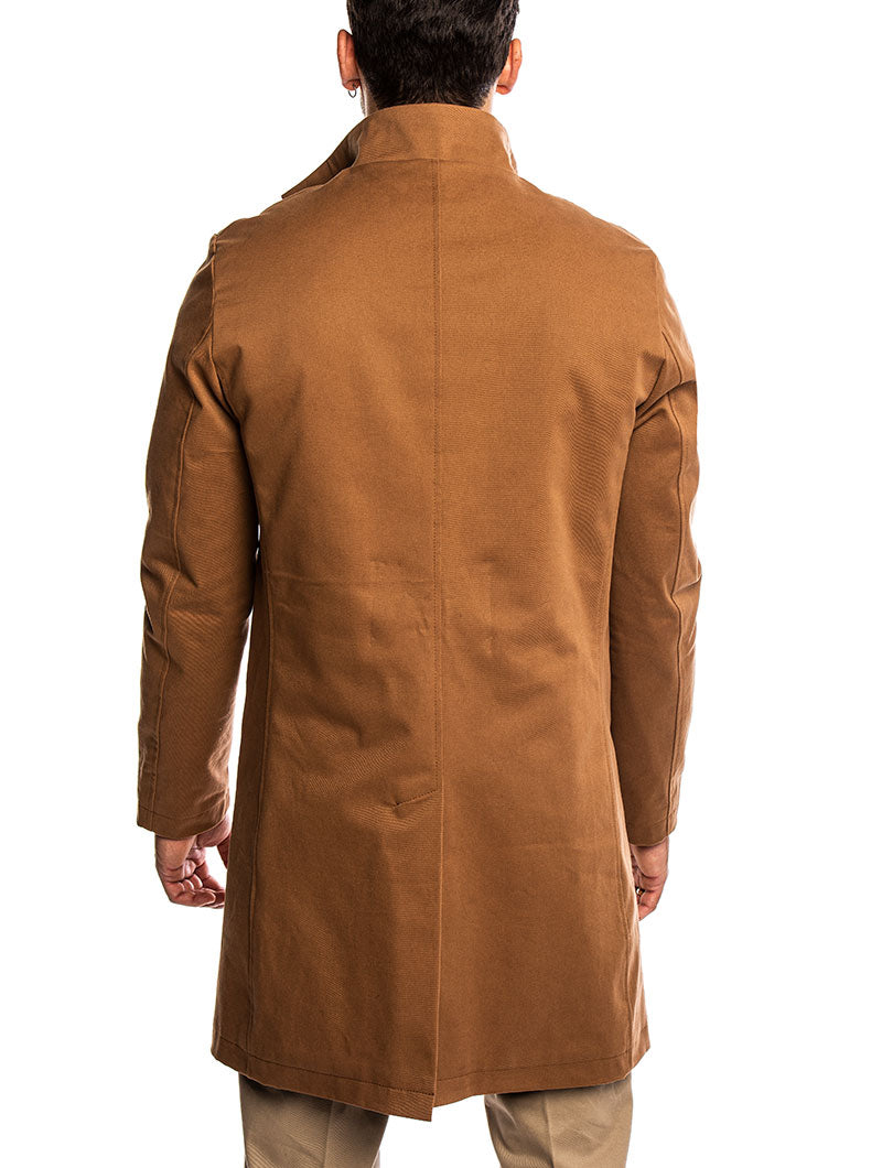 TOBACCO OVERCOAT