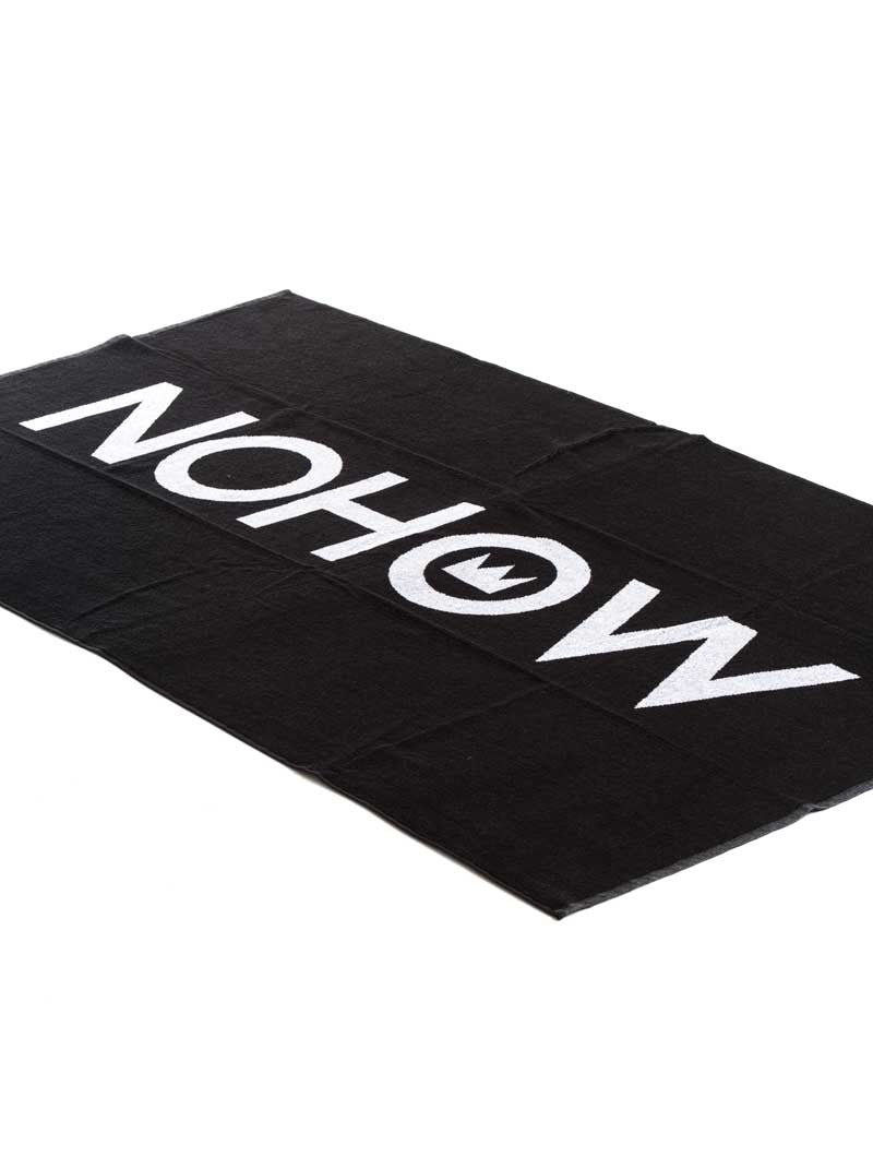 BLACK NOHOW TOWEL