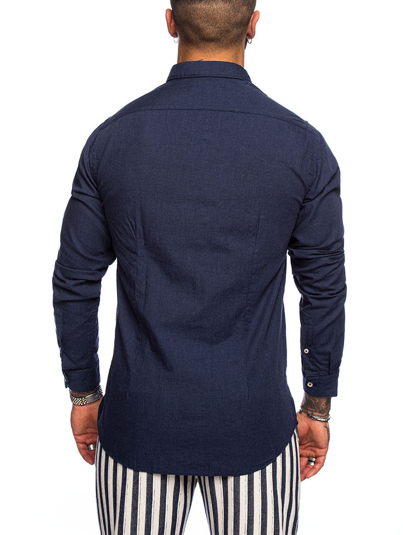 ALEXANDER SHIRT IN NAVY