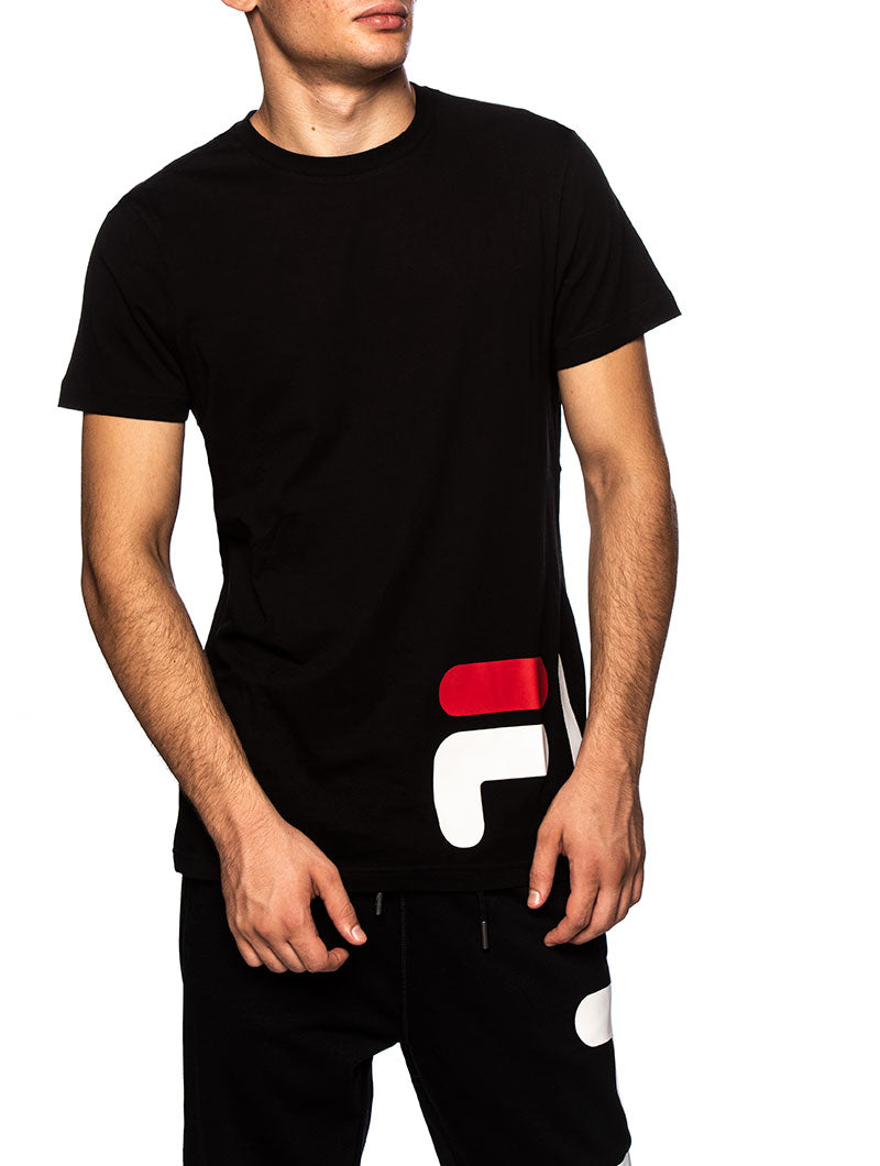 MAN EAMON T-SHIRT IN BLACK