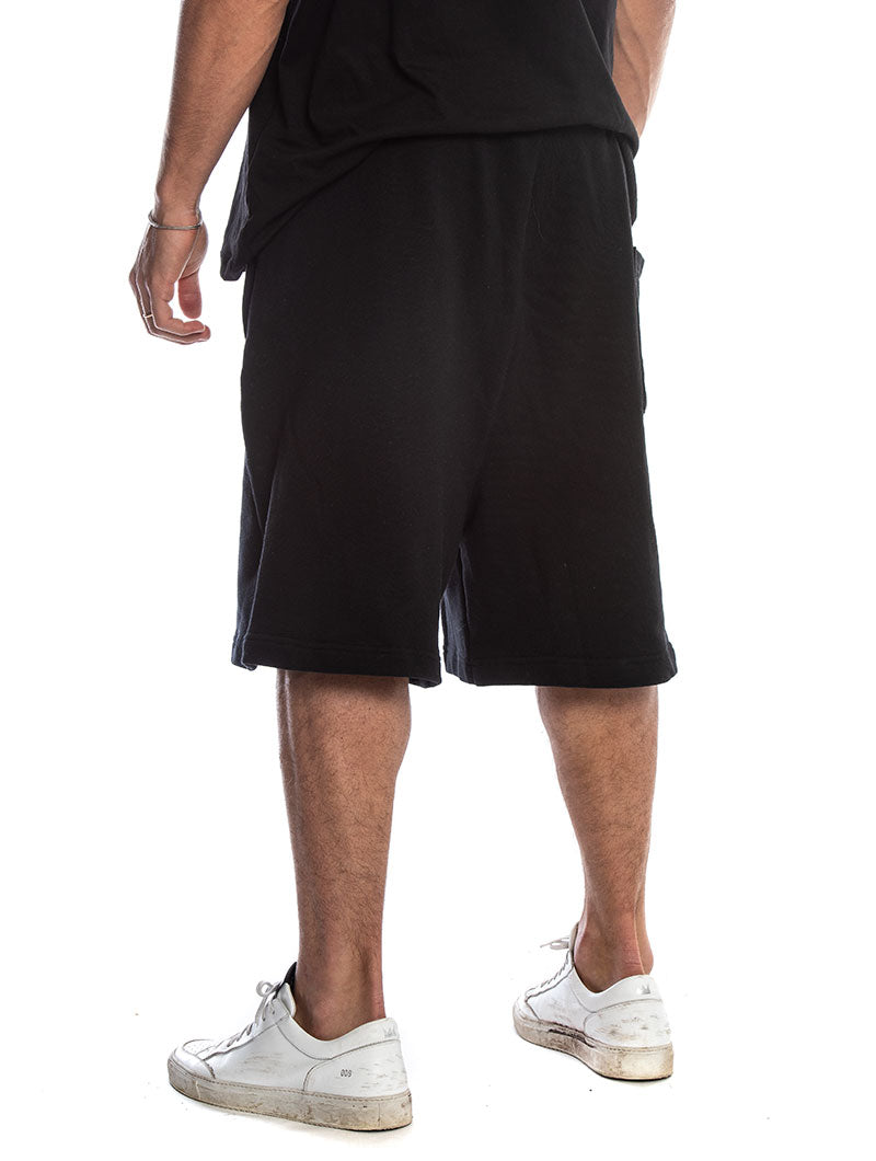 BLACK MAMBA SWEATSHORTS