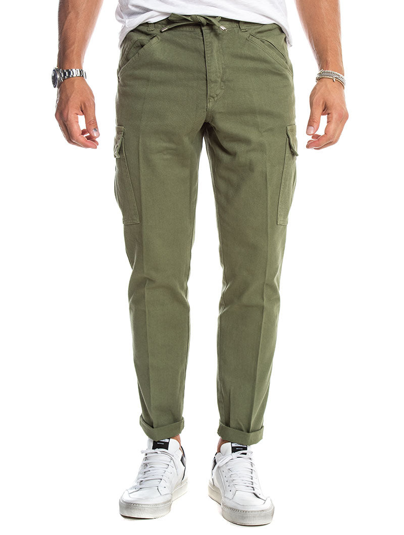 VENUS CARGO PANTS IN GREEN