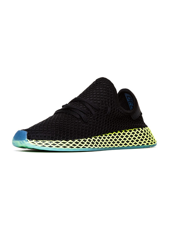 huge discount 3e636 6cbef DEERUPT RUNNER IN CORE BLACK. Adidas