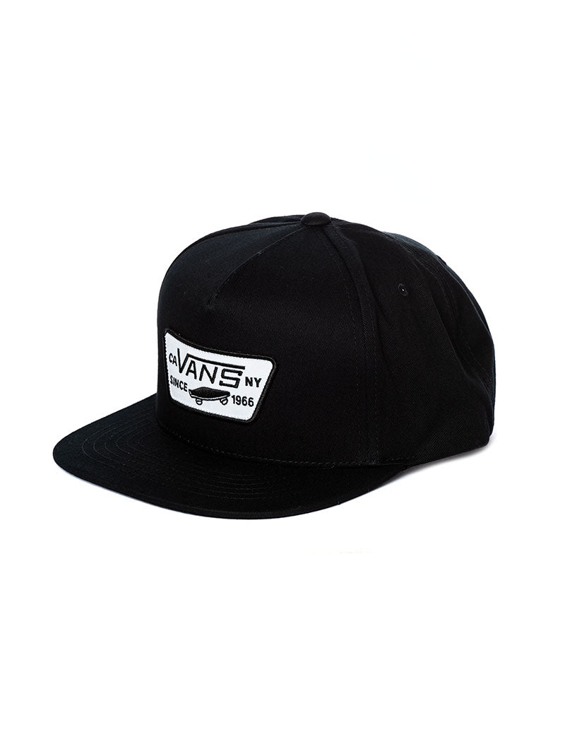MN FULL PATCH SNAPBACK IN BLACK