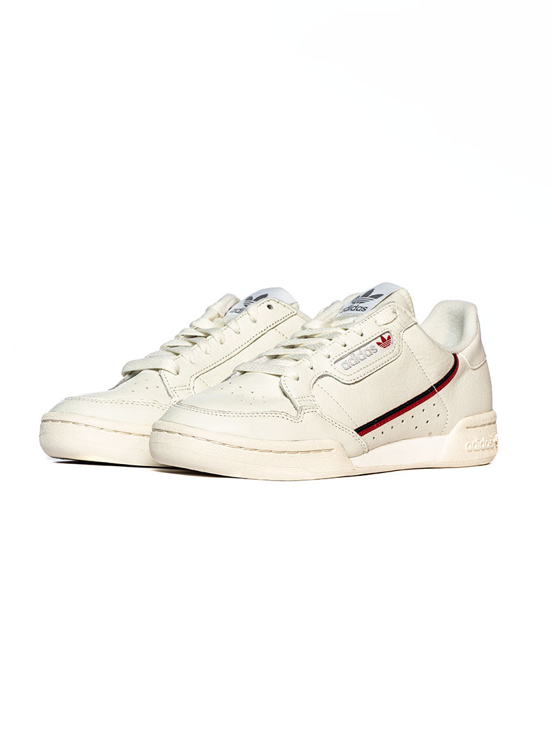 CONTINENTAL 80 SNEAKERS IN WHITE AND RED