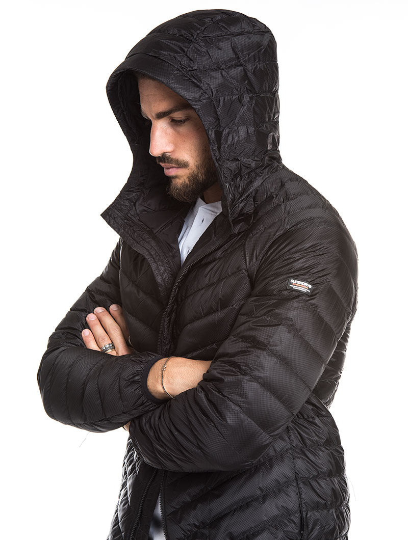 MICRO QUILT DOWN JACKET