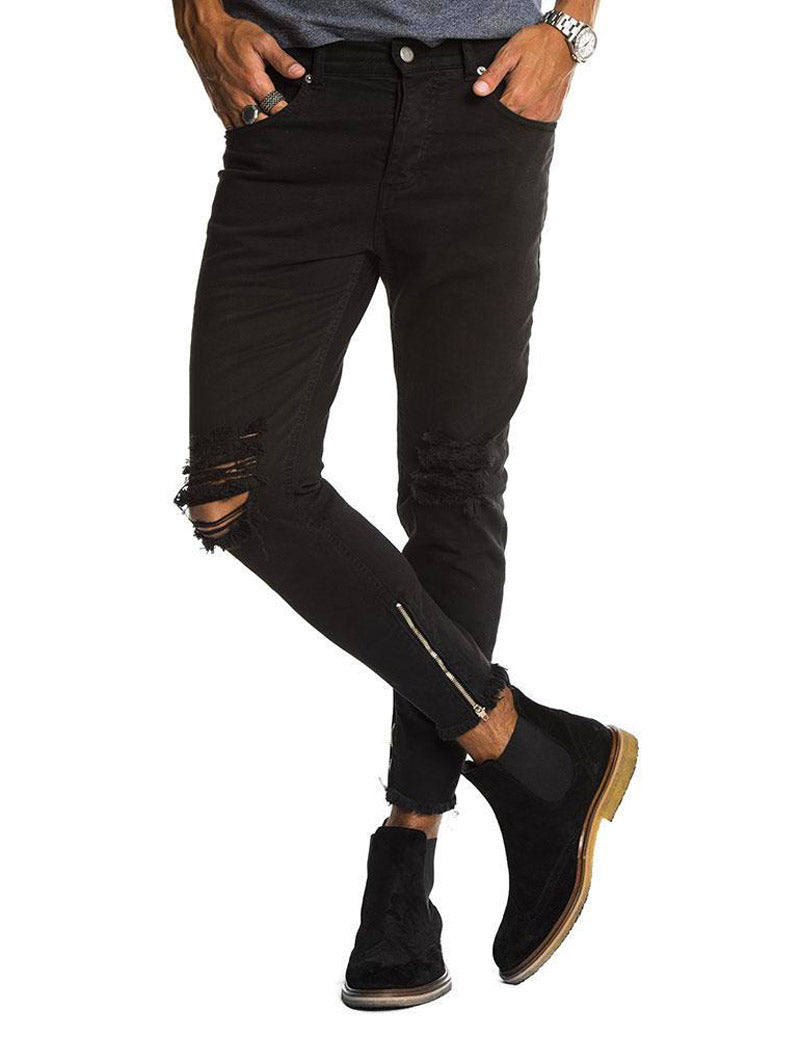 adb76b596ac Men's Black Ripped Jeans – Nohow Style