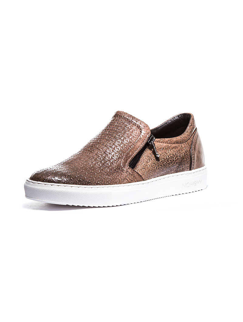 ROMAN RICH SHOES IN BROWN