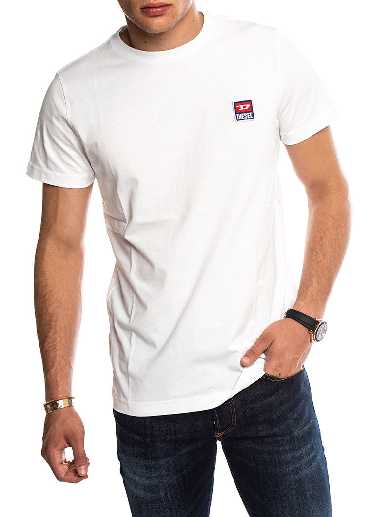 T-DIEGO DIV T-SHIRT IN WHITE