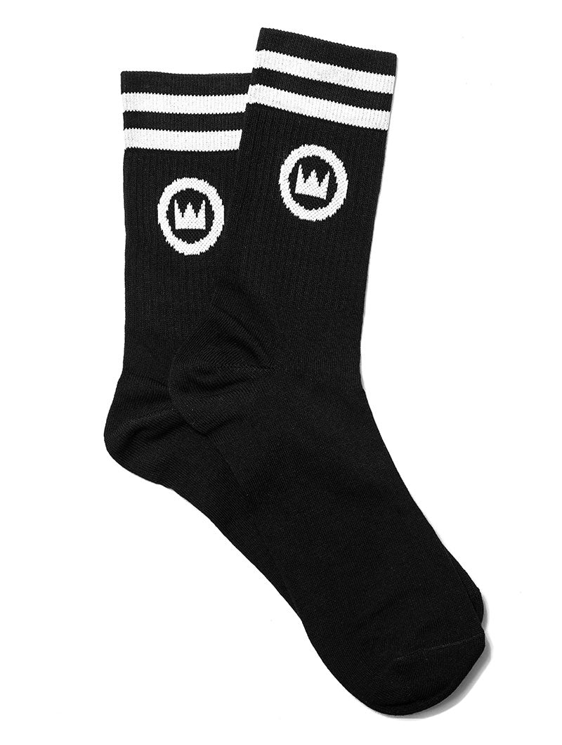 NOHOW 2PACK SOCKS IN BLACK
