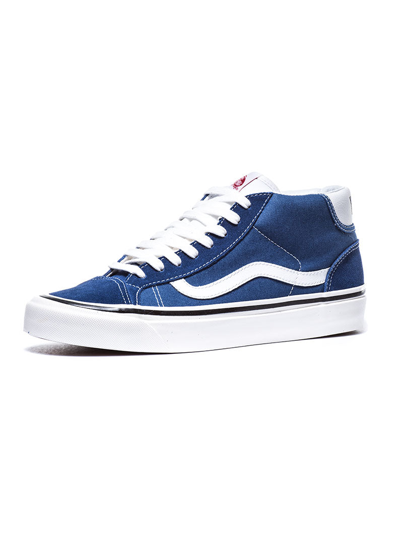 MID SKOOL 37 DX SHOES IN BLUE