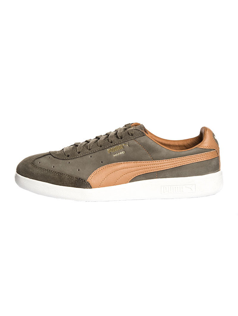 MADRID TANNED DUSKY GREEN SHOES