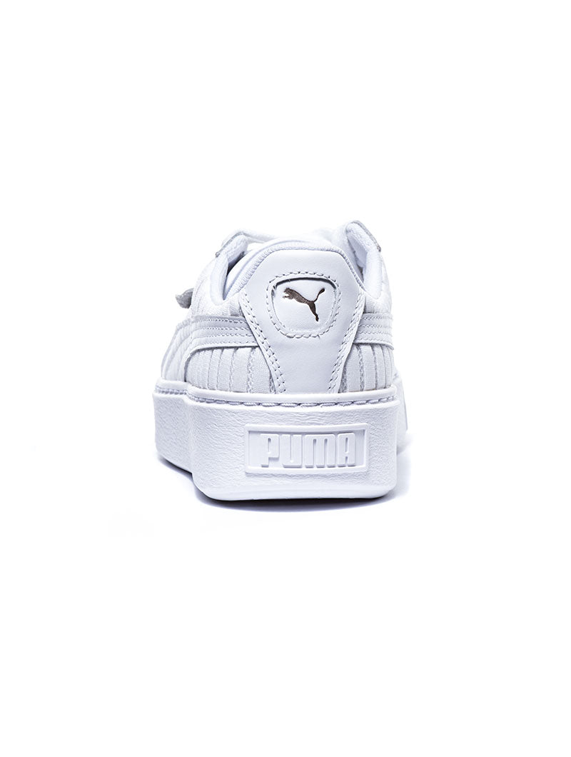 BASKET PLATFORM EP WNS SHOES IN WHITE
