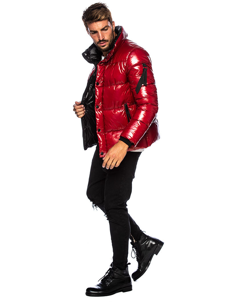 COURMAYEUR DOWN JACKET IN RED