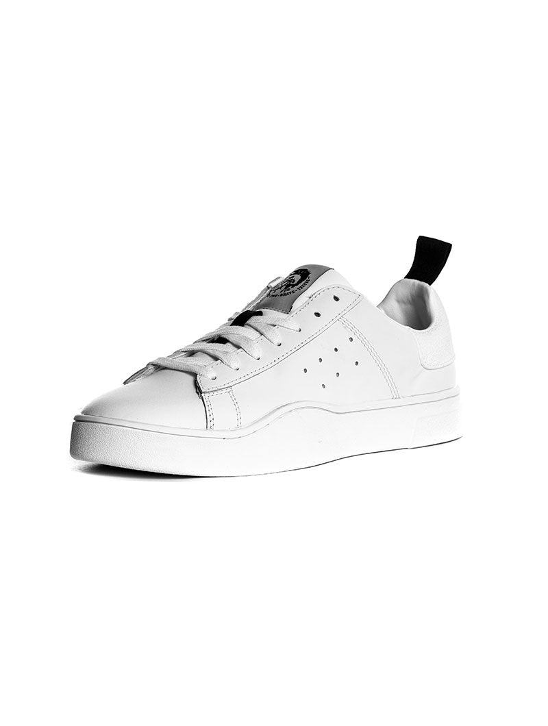 S-CLEVER LOW DIESEL SNEAKER IN WHITE