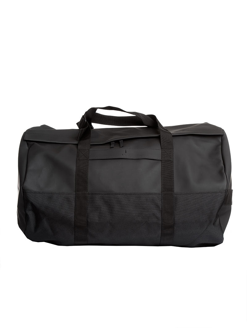 BLACK TRAVEL DUFFEL BAG