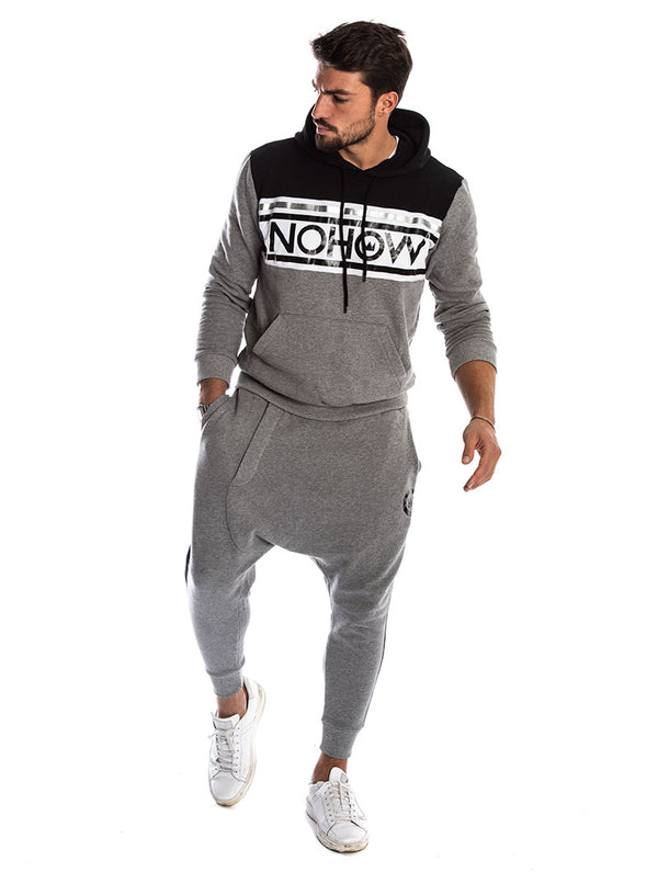 3a9a11a3c1 PRANCER TRACKSUIT IN BLACK AND GREY