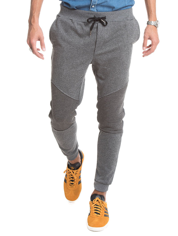 f9bcb2006a JOGGER WITH ZIP IN GREY