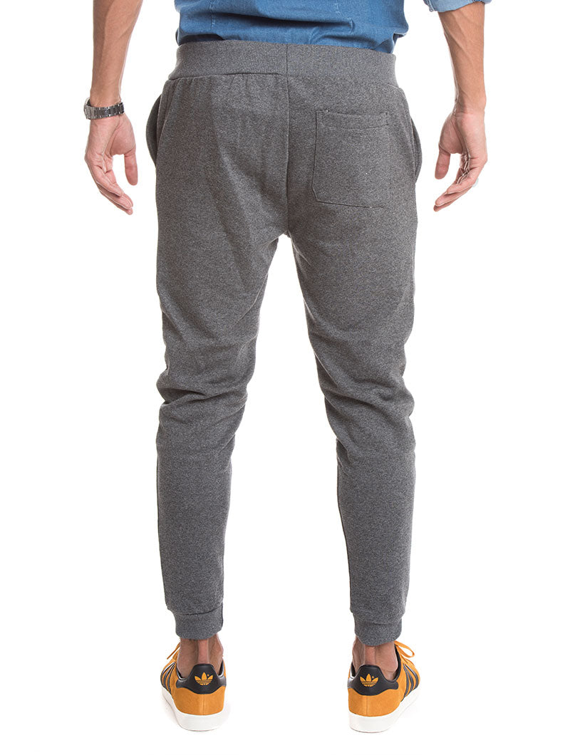 MEN'S CLOTHING | JOGGER WITH ZIP IN GREY | NOHOW