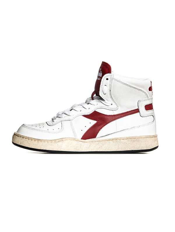 MI BASKET USED SNEAKERS IN RED AND WHITE d197b12dd