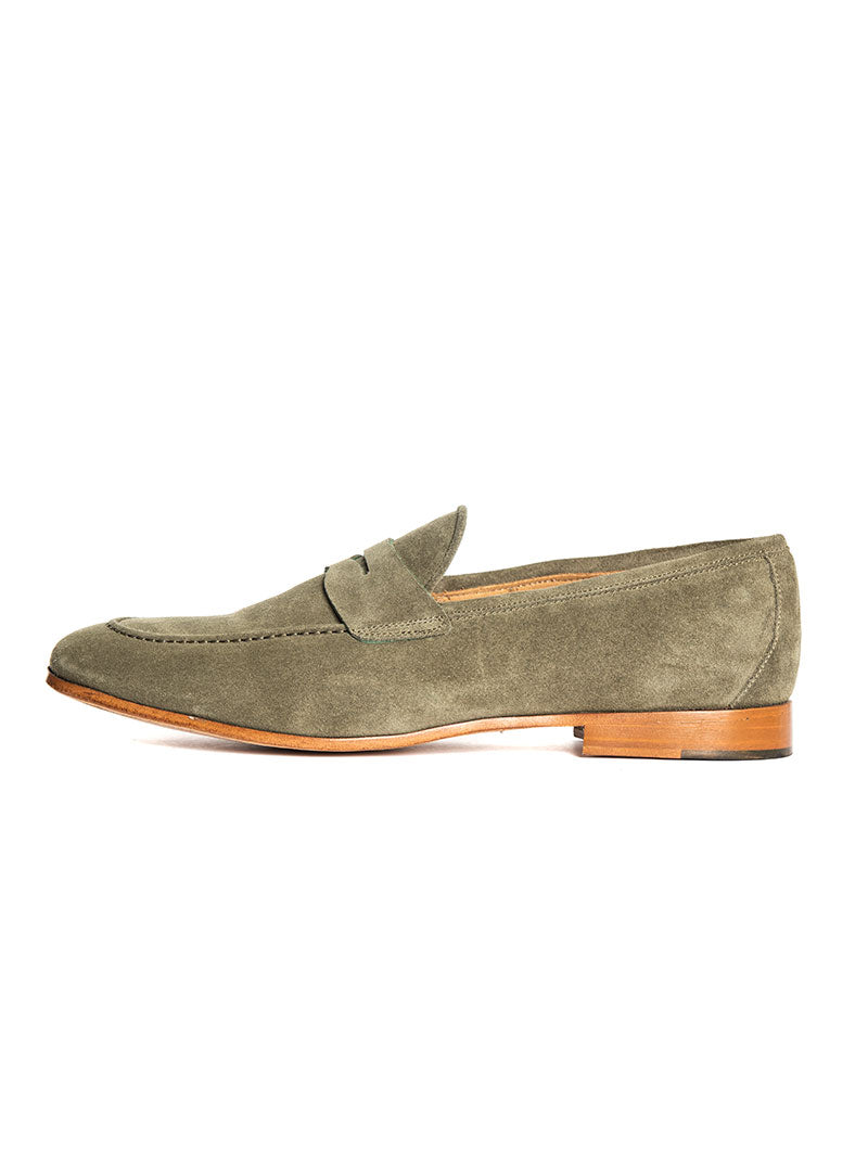DONATELLO LOAFERS IN GREEN