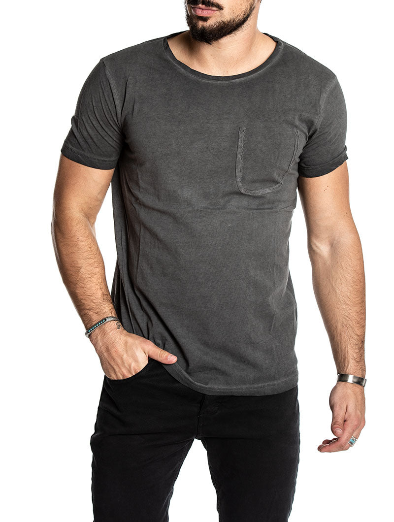 HOWLAND CASUAL T-SHIRT IN BLACK