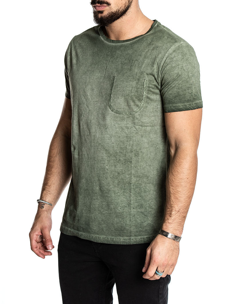 HOWLAND CASUAL T-SHIRT IN GREEN